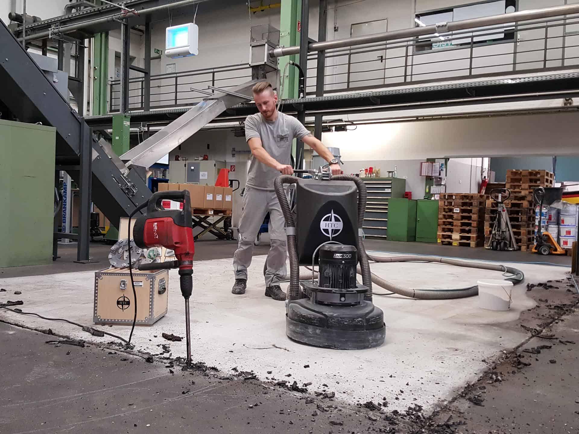 Industrieboden Beschichtung Gütersloh